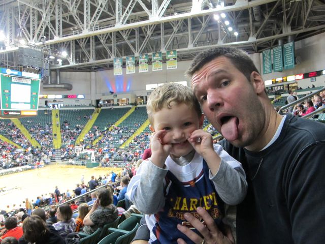 The Globetrotters got us in a goofy mood
