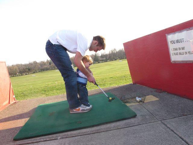 carter and J golf