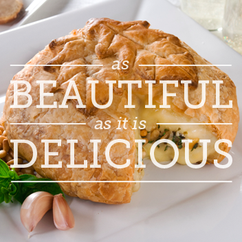 Elegant Brie Beautiful as it is Delicious Baked Brie