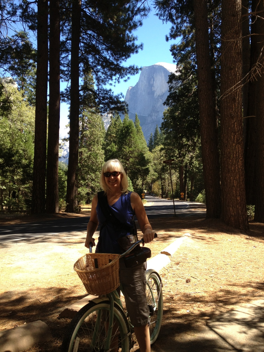bike riding in Yosemite