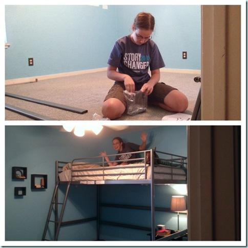 new loft bed