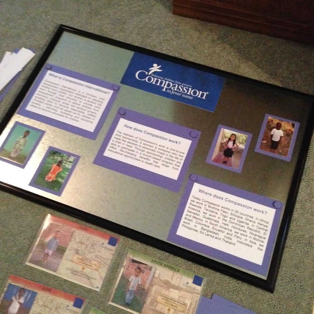 New Compassion board for church