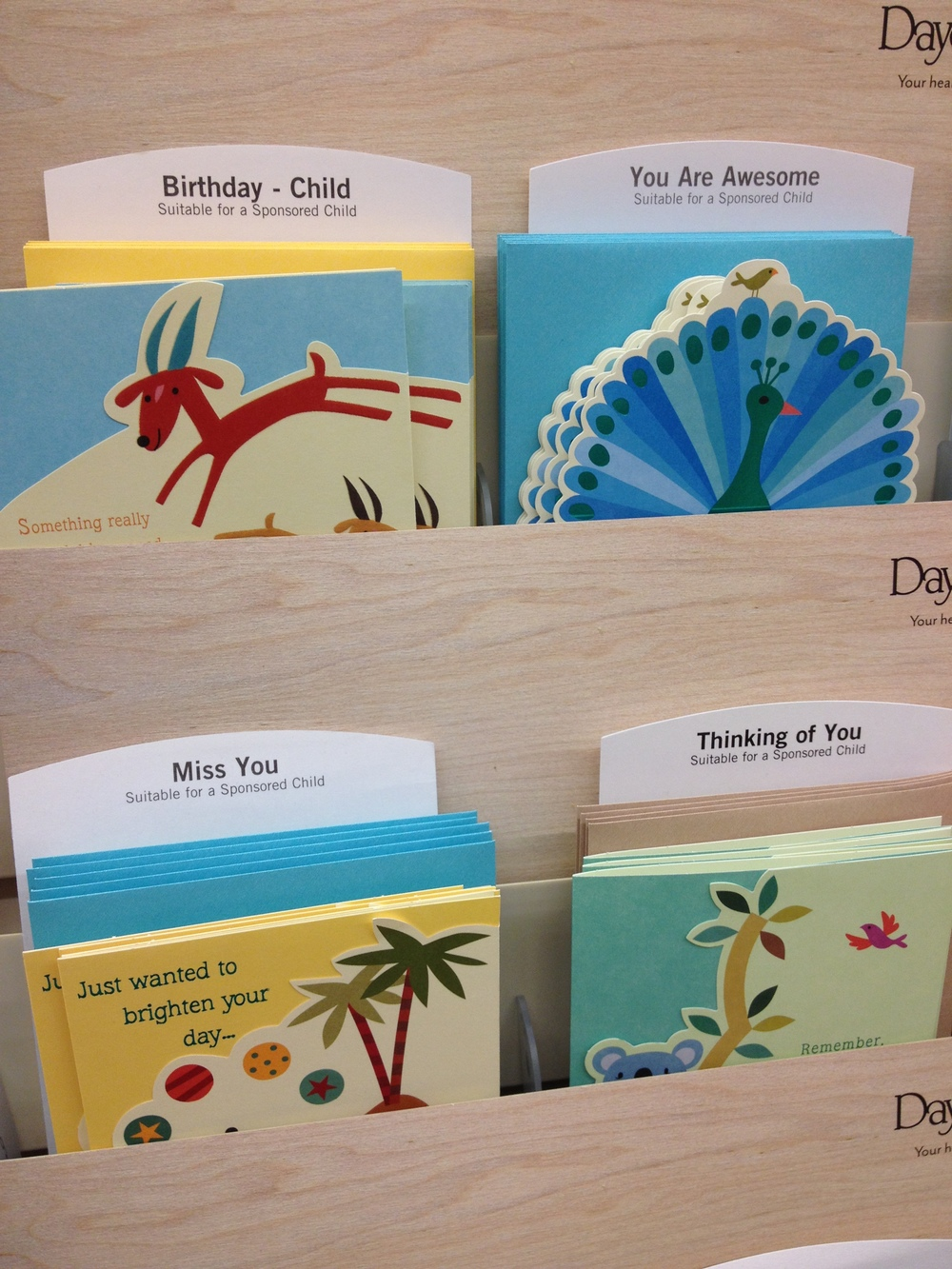 Found Colors of Compassion cards at Hobby Lobby