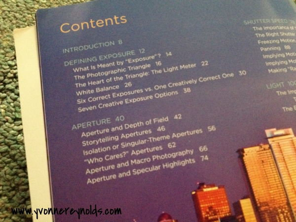 Understanding Exposure Table of Contents