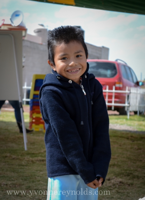 Felix, our Compassion sponsored child in Mexico