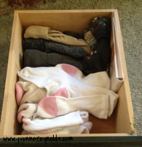 A much neater sock drawer