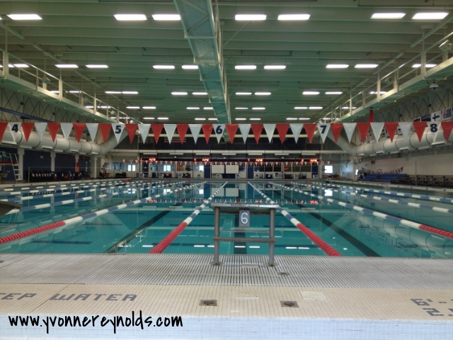 Michael Phelps trained in this pool!
