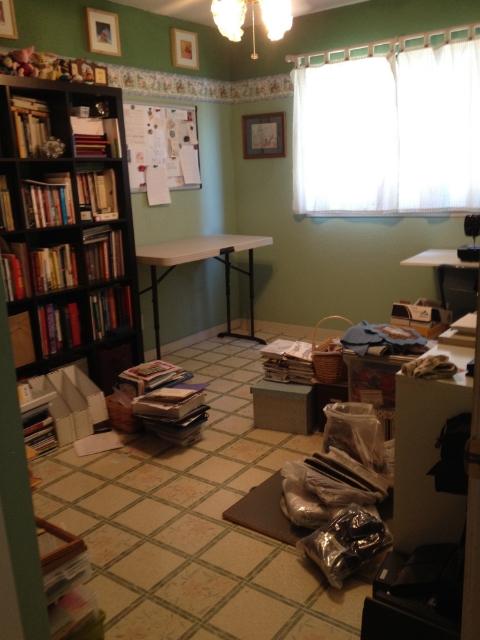 craft room reorganization