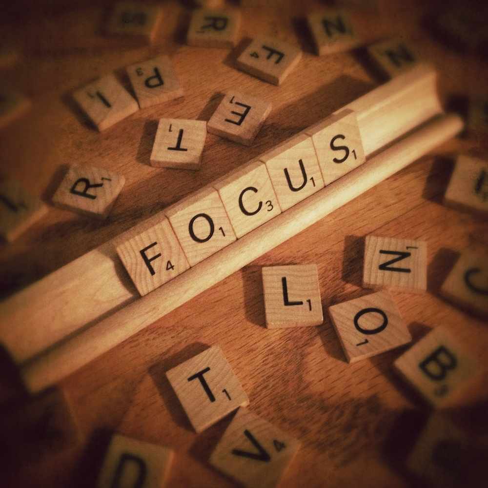 My One Word for 2015: Focus