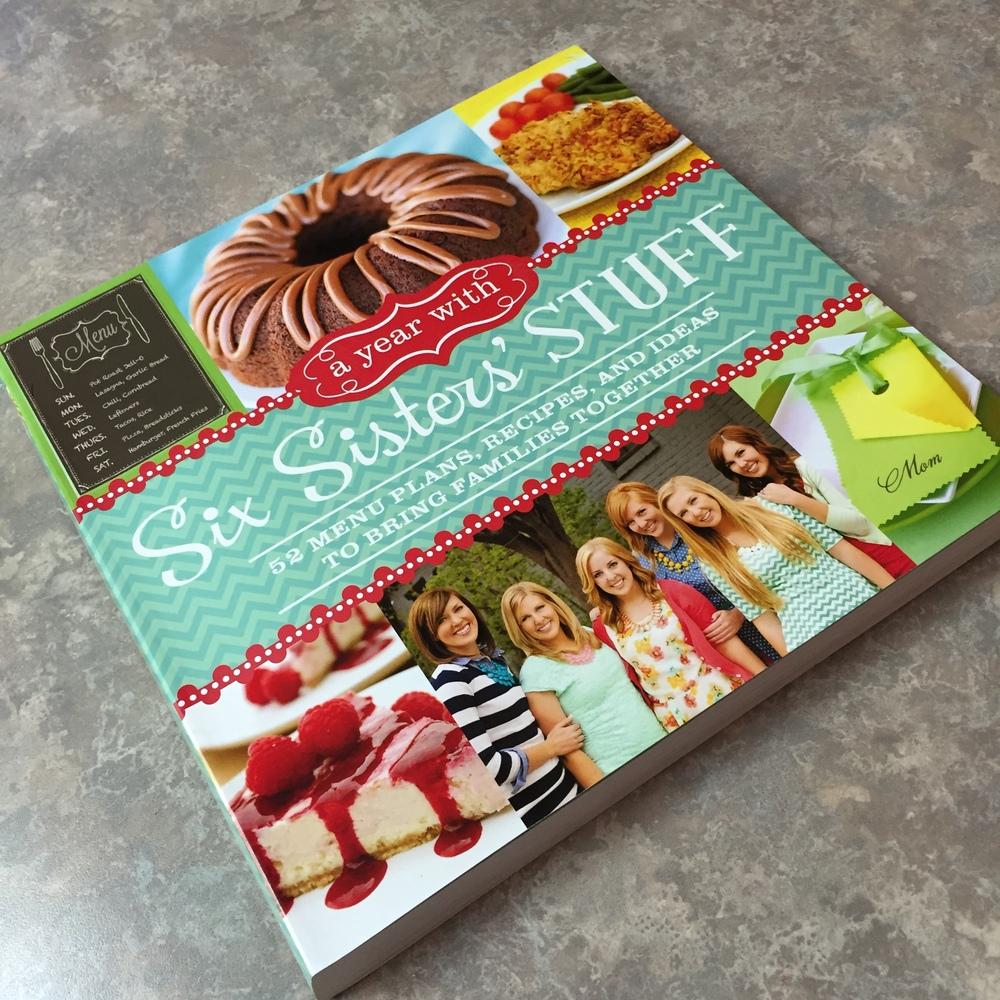 Six Sisters' Stuff cookbook