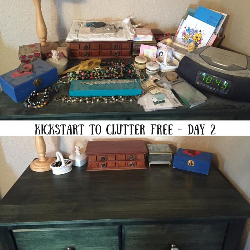 Kickstart to Clutter Free Day 2
