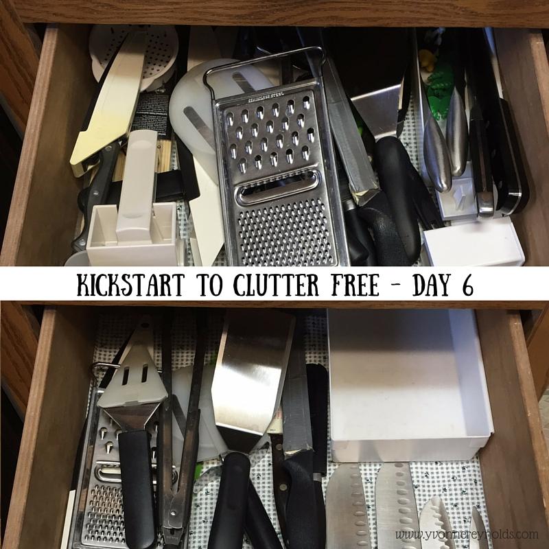 Kickstart to Clutter Free Day 6