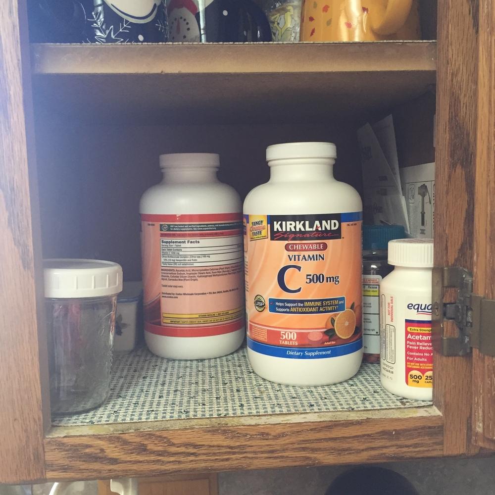 Kickstart to Clutter Free medicine cabinet