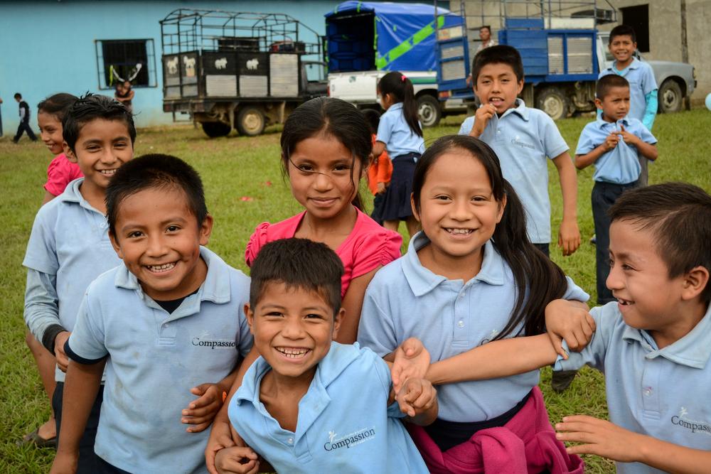 Compassion kids in Mexico