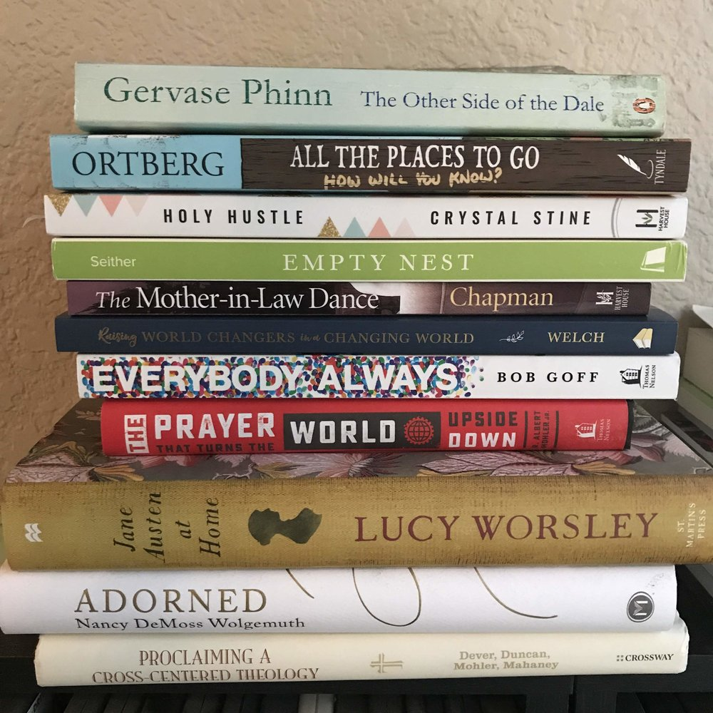 My Current Reading Pile