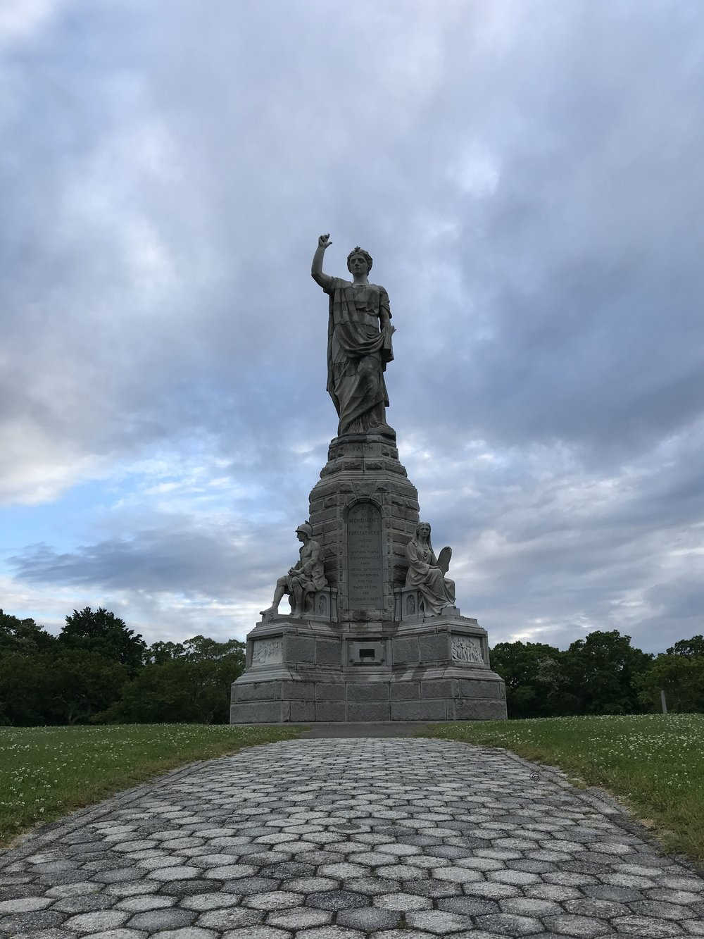 Forefather's Monument Plymouth Massachusetts