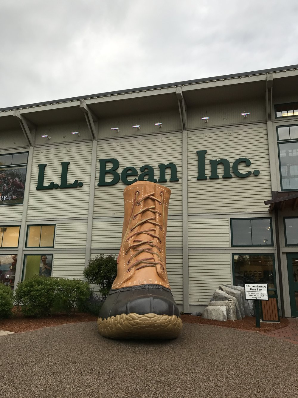 L. L. Bean Flagship Store Freeport Maine