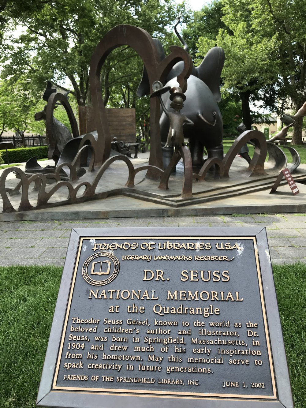 Dr. Suess National Memorial Sculpture Garden