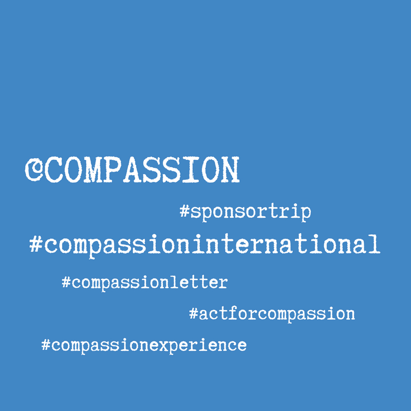 Compassion Social Media hashtags