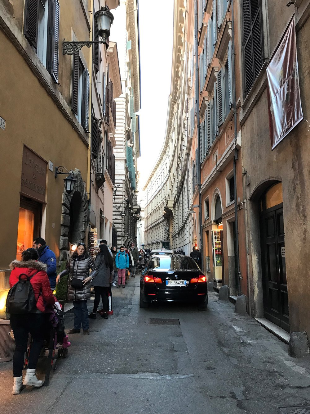 Exploring the streets of Rome
