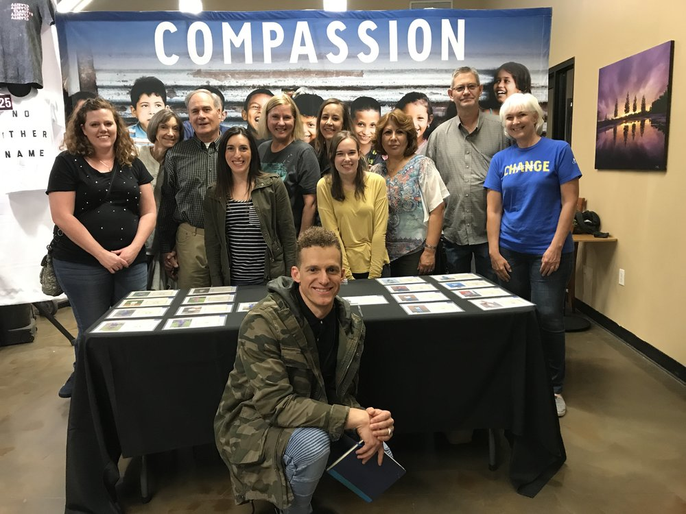 Volunteer at Compassion partner events