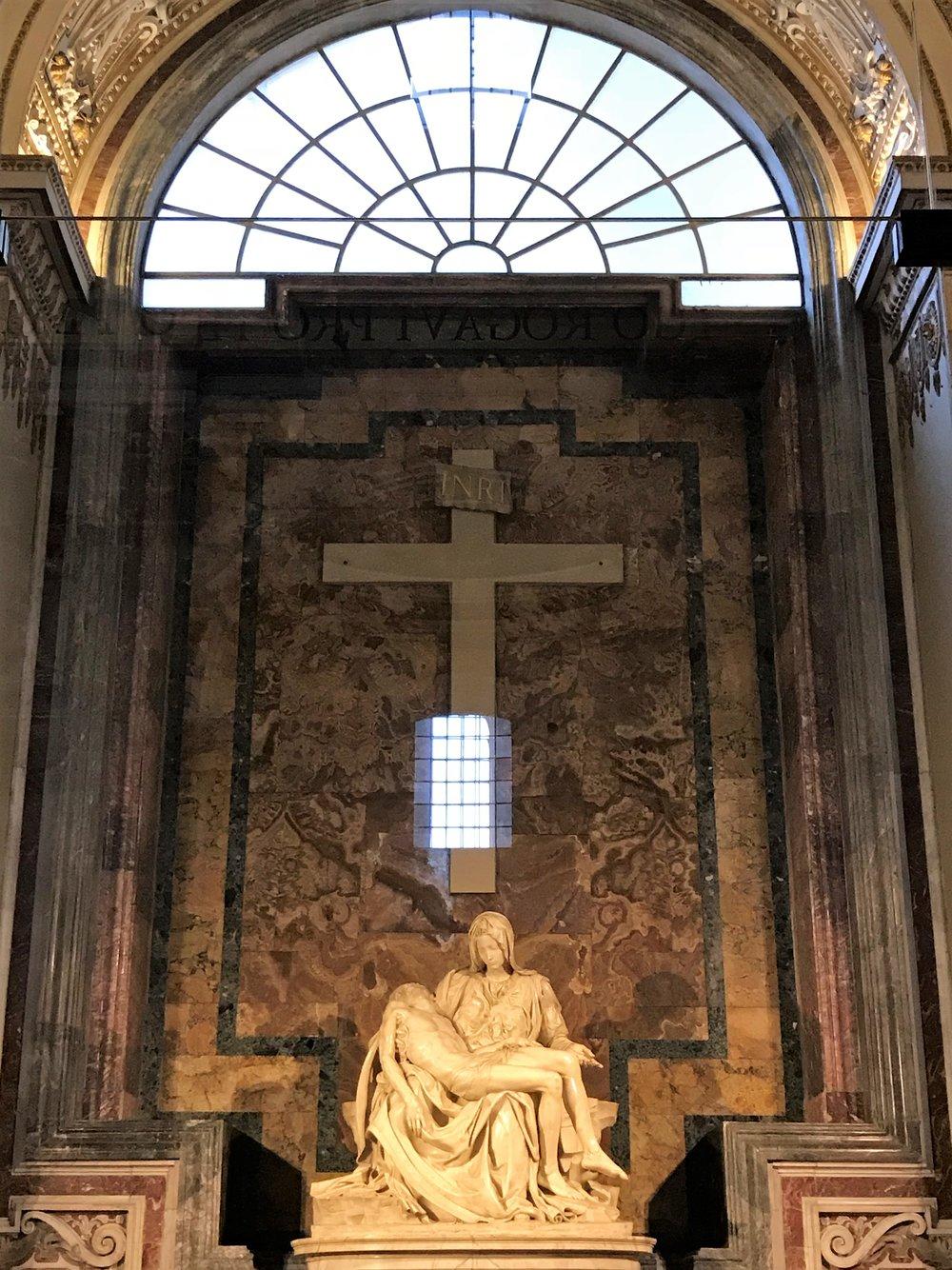Pieta in St. Peter's Basilica