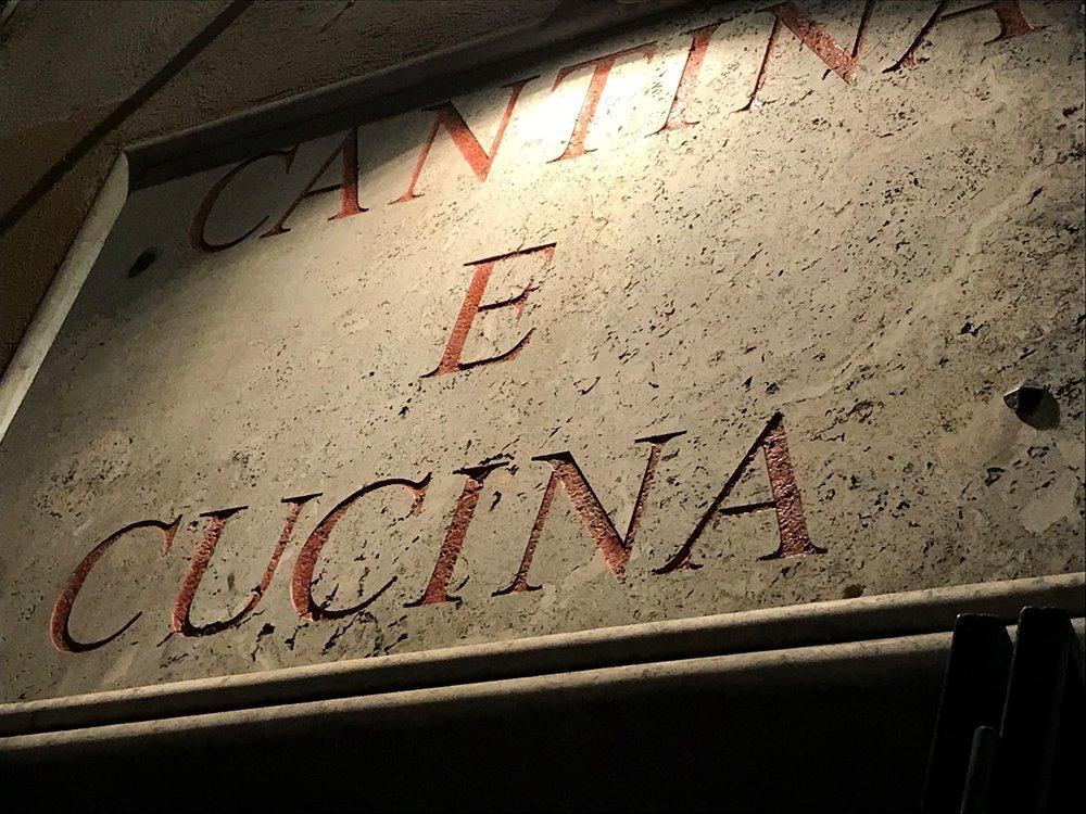 Cantina E Cucina in Rome Italy
