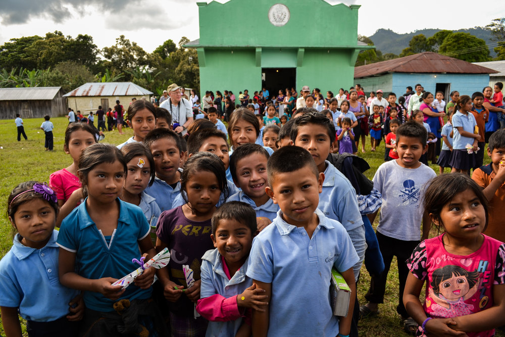 Compassion children in southern Mexico