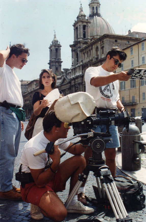 Filming Rome-Felipe,Ari,Andre & Cesar *%22Piazza Novona%22.jpg