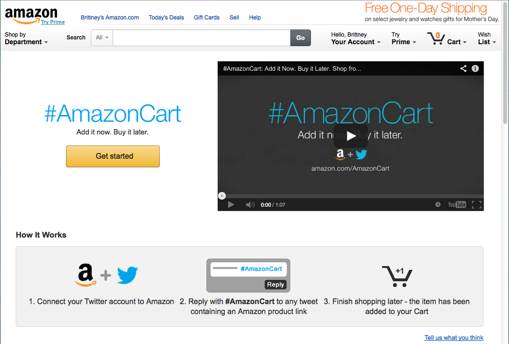 amazon.com/amazoncart