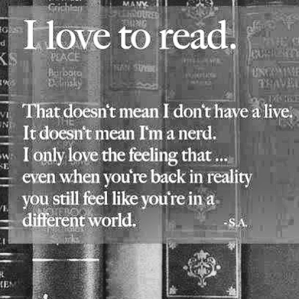 I #love to #read