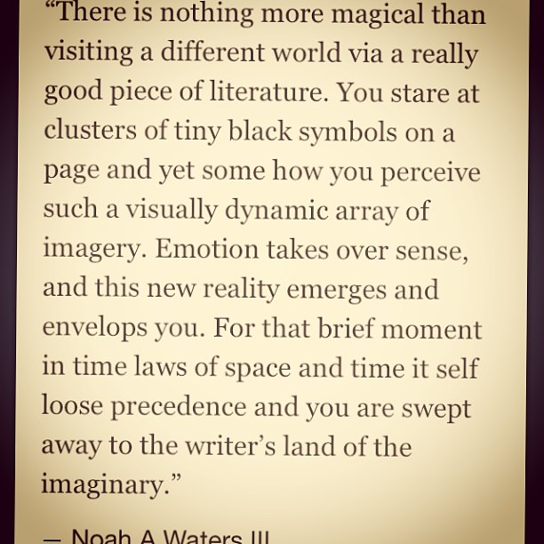 #quote or excerpt from a piece I #wrote today. #reading #books #writing #art #creation #imagination #creativity