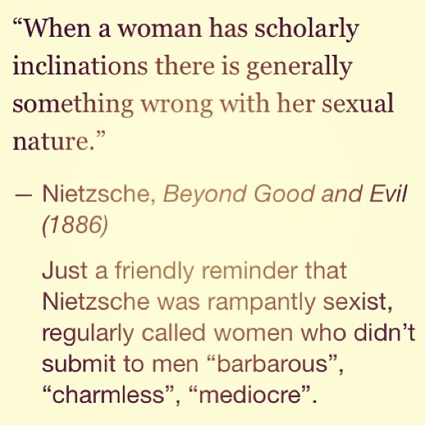 Ught oh! #Nietzsche was way wrong. #Intelligence is immensely #attractive. #sexual #scholar