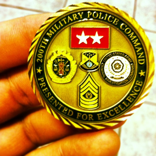 The flip side #coin #US #ARMY