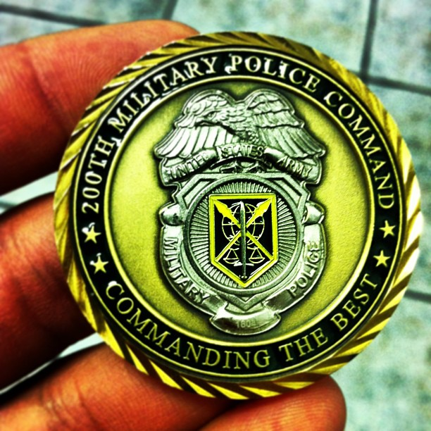 Got a #coin from the #Command #Sergeant #Major #US #ARMY