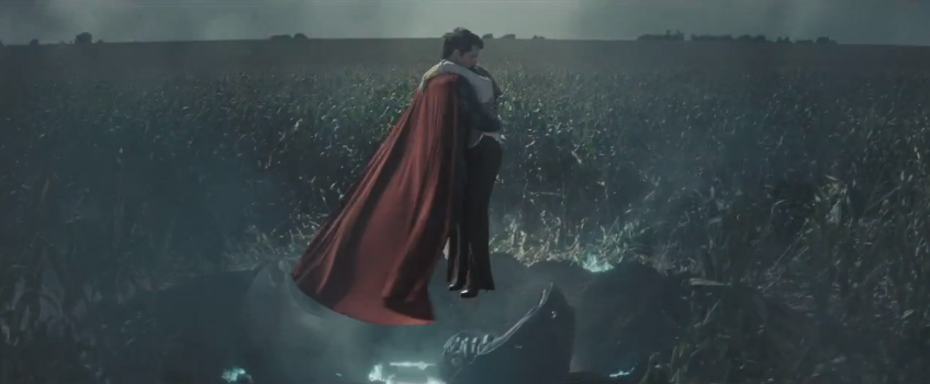 MAN OF STEEL - Exciting New TV Spot with New Footage! Joey Paur, geektyrant.com We've got another TV spot for Man of Steel that you're going to want to check out because it's got some exciting action-packed new footage! Throughout the spot Jor-El explains to Clark Kent the meaning of the 'S' on his chest. This is reall…