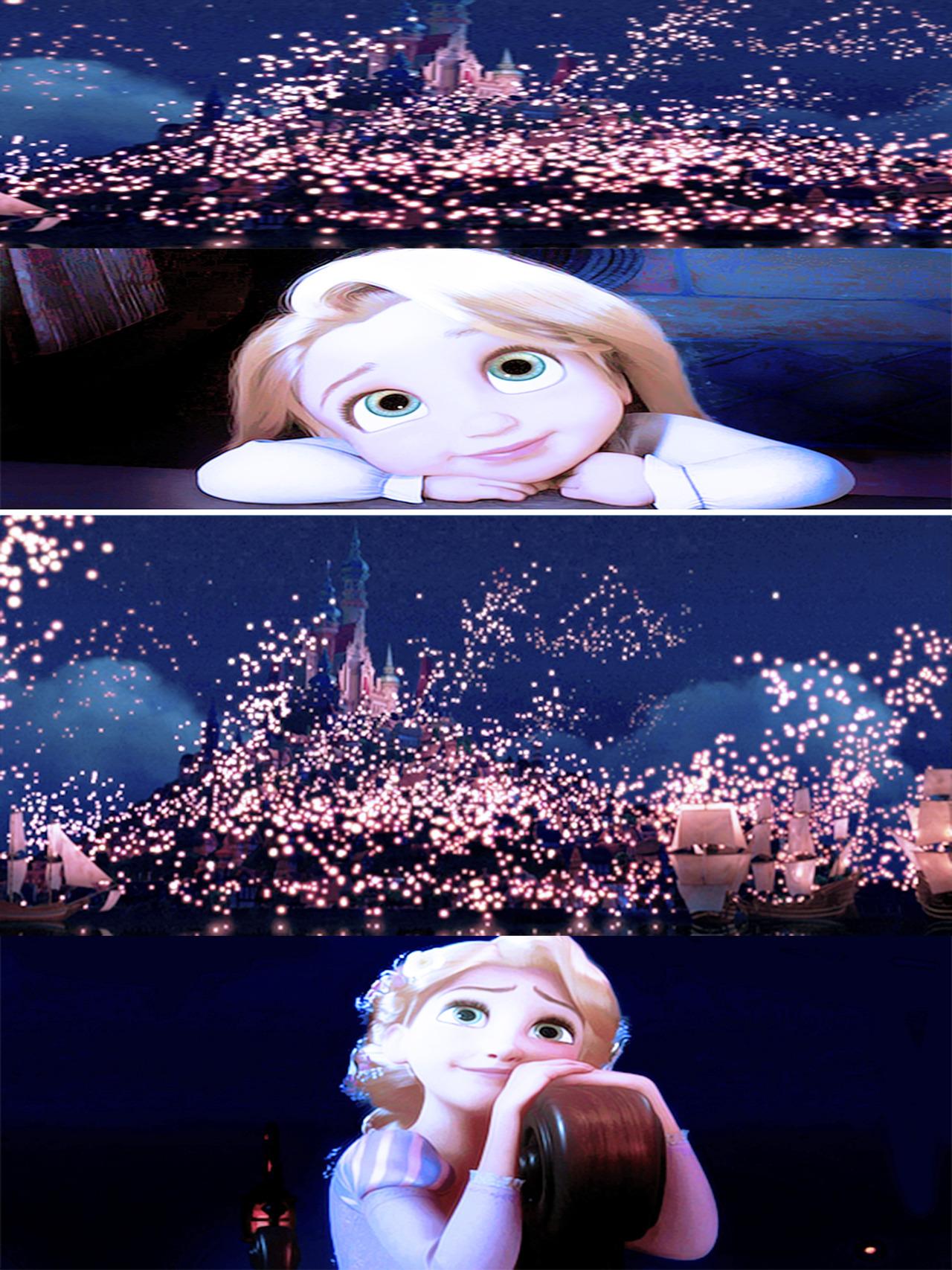 <3      Rapunzel Star gazes
