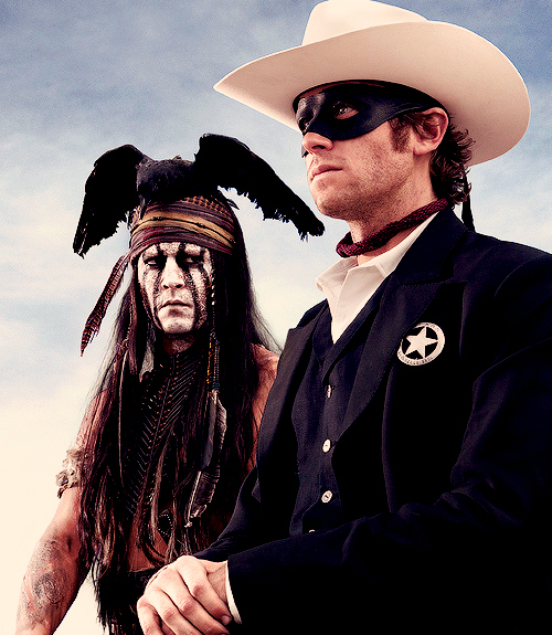 First picture from the lone ranger