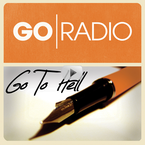 """goradio: Our new song """"Go To Hell"""" is premiering now on MTV Buzzworthy and we want YOU and your friends (or enemies) to hear it! LISTEN to our new song, FOLLOW us on Tumblr & REBLOG this post to win: - Our new Go Radio """"Flag"""" shirt - A SIGNED copy of 'Lucky Street' - A SIGNED copy of 'Do Overs And Second Chances' That's it - we'll be choosing THREE winners tomorrow and you can enter as many times as you like (each reblog will count as an entry). New album 'Close The Distance' drops Sept 18th via Fearless Records Check out the MTV Buzzworthy Premiere: http://buzzworthy.mtv.com/2012/08/07/go-radio-go-to-hell Buy """"Go To Hell"""" on iTunes - http://smarturl.it/GoToHell"""