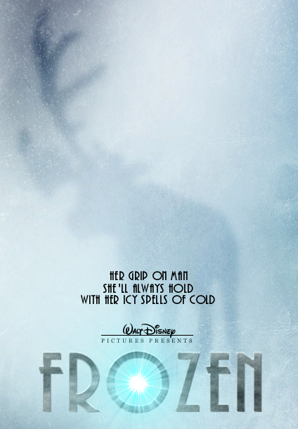 I AM SO EXCITED!! enchantingworldofdisney: Since the new plot that was given includes a reindeer missing an antler, here's another poster.