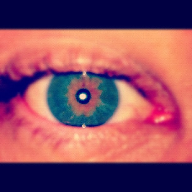 My eye  (Taken with  Instagram )