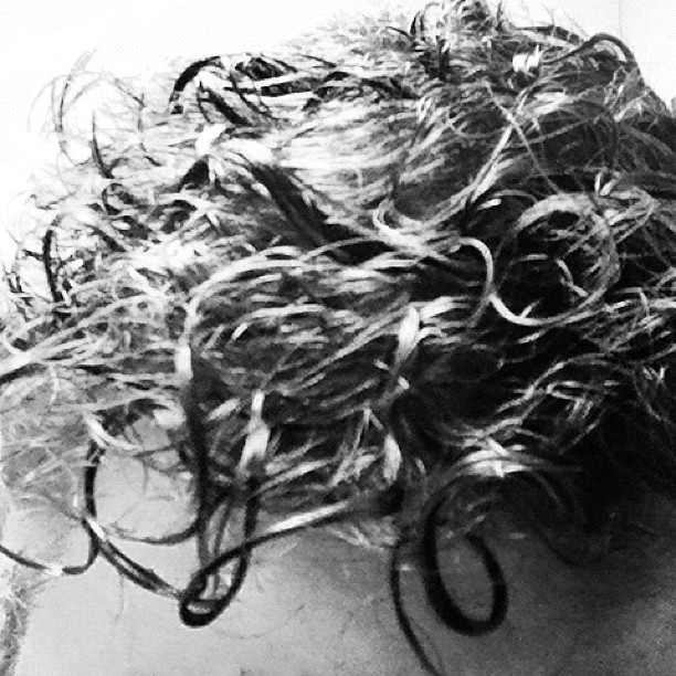 B/W hair (Taken with Instagram)