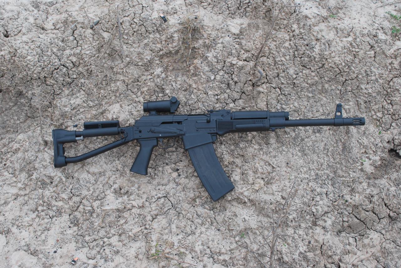 weaponzone :     Saiga 12 Folder  Credit:  ZenPhotos