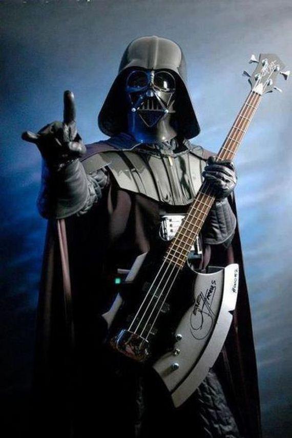 that-star-wars-blog: triggyhappy: Rock On Dark Side!! :D YES!!!!!!!!