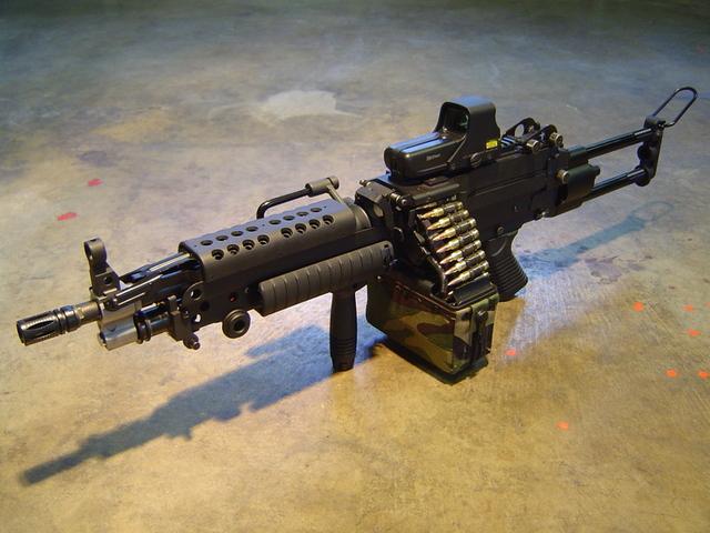 weaponzone: FN M249 Credit: MacSog