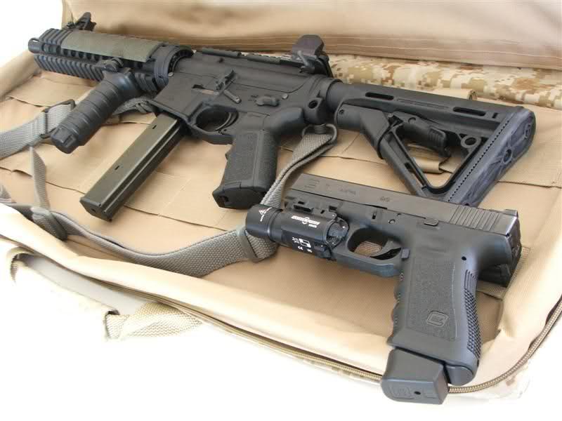 weaponzone: Custom 9mm AR Build Glock 17 Credit: TacDoc Glock