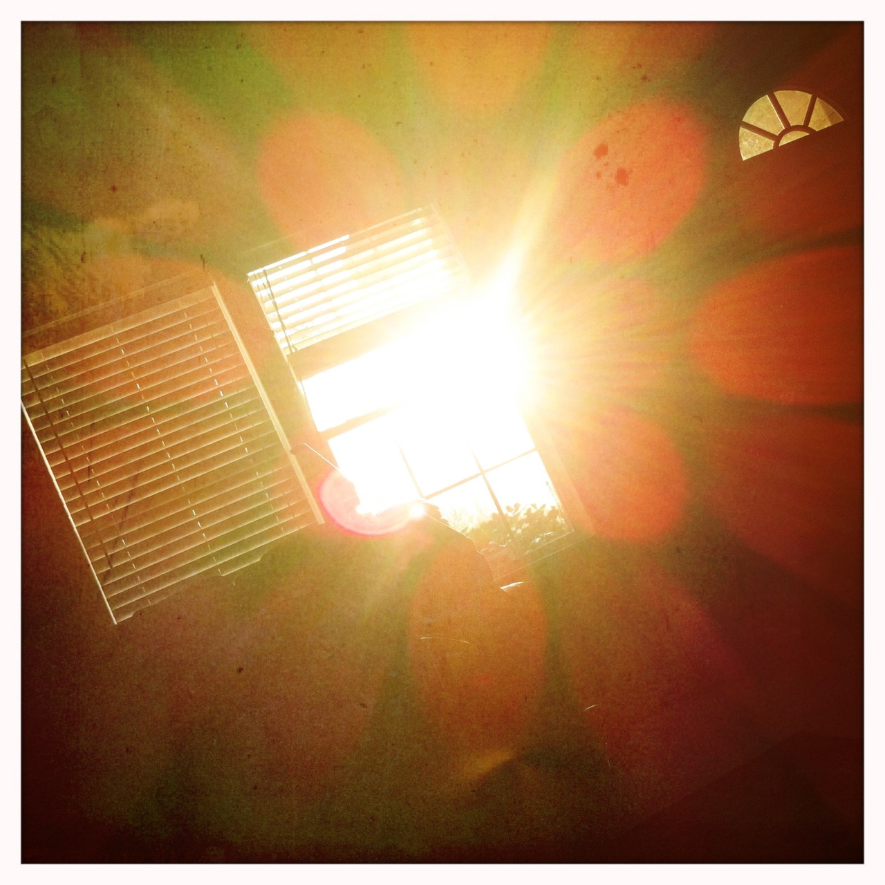 Morning window sun 6 Buckhorst H1 Lens, Blanko Film, No Flash,