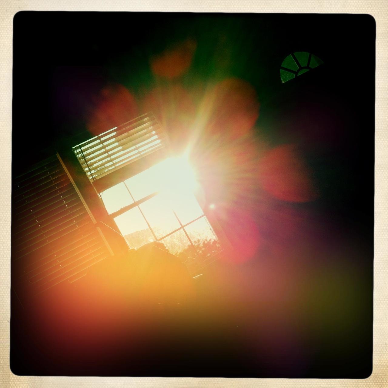 Morning window sun 5 John S Lens, Ina's 1969 Film, Dreampop Flash,