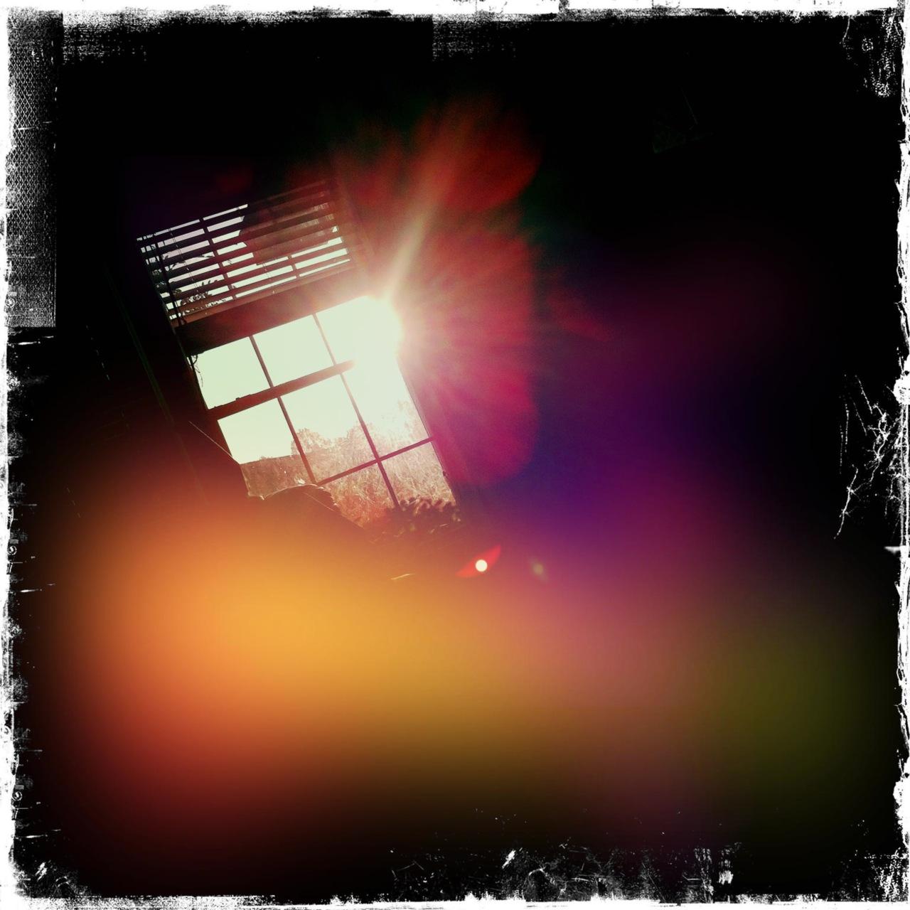 Morning sunrise window 3 John S Lens, Kodot XGrizzled Film, Dreampop Flash,