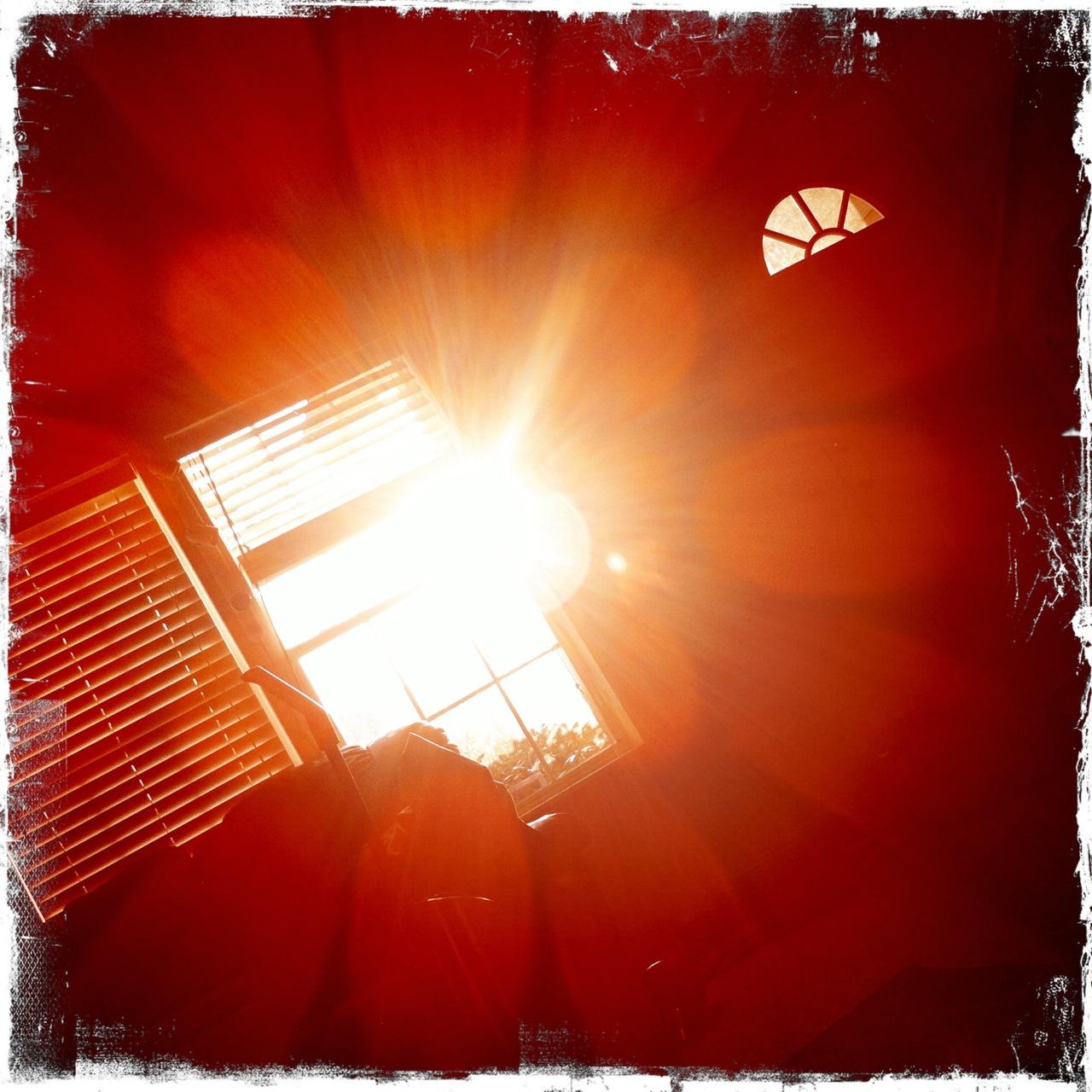 Morning sunrise window 3 Kaimal Mark II Lens, Kodot XGrizzled Film, No Flash,